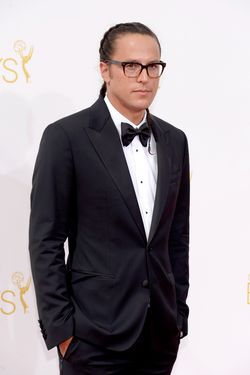 LOS ANGELES, CA - AUGUST 25:  66th ANNUAL PRIMETIME EMMY AWARDS -- Pictured: Diretor Cary Fukunaga arrives to the 66th Annual Primetime Emmy Awards held at the Nokia Theater on August 25, 2014.  (Photo by Kevork Djansezian/NBC/NBC via Getty Images)