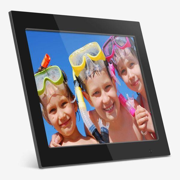 Aluratek Digital Photo Frame With 2GB Built-in Memory, 15
