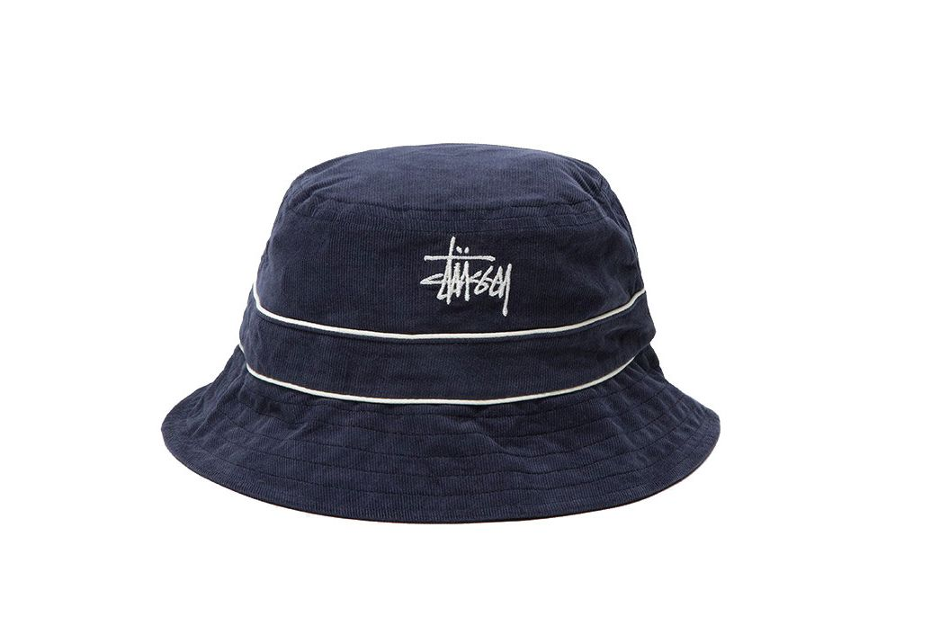 Stussy Cord Band Bucket Hat
