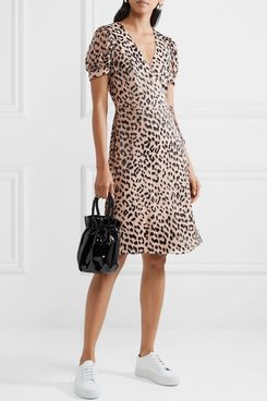 Alice + Olivia Rosetta Wrap Dress