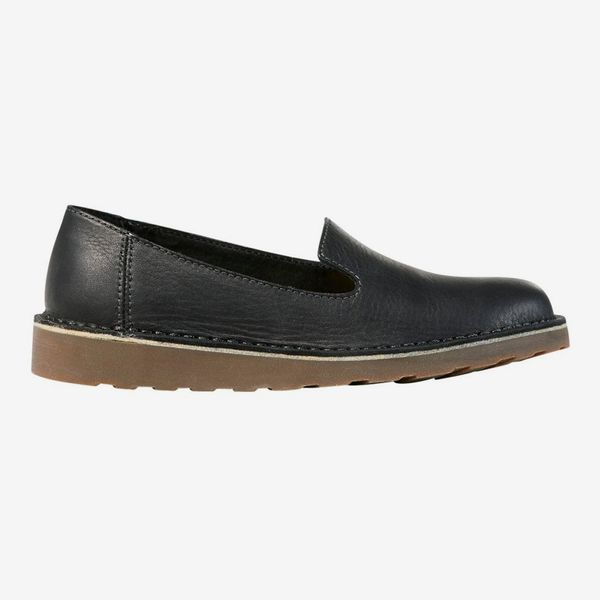 L.L.Bean Women's Leather Stonington Slip-on Shoes