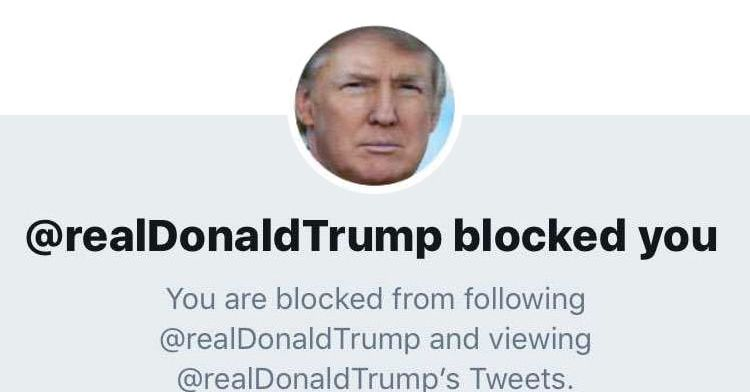 88e8febf36a7 Who Donald Trump Has Blocked on Twitter