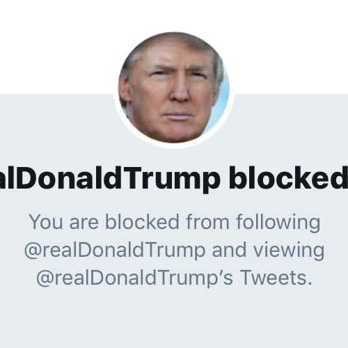 Who Donald Trump Has Blocked On Twitter