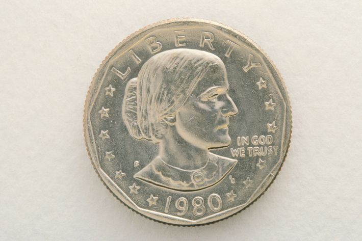 Susan B. Anthony coin.