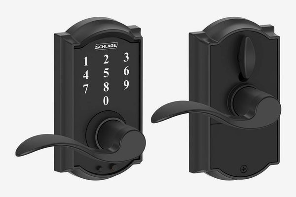 Schlage Touch Camelot Lock with Accent Lever