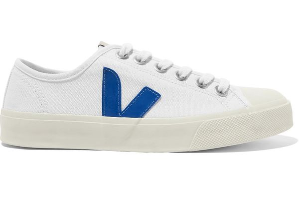 Veja Wata organic cotton-canvas sneakers