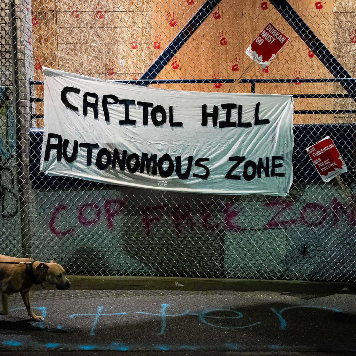 What S Going On In Chop The Seattle Occupied Protest Zone