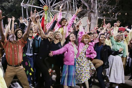 GREASE: LIVE: The Finale of GREASE: LIVE! Sunday, Jan. 31, 2016 on FOX. © 2016 Fox Broadcasting CO. Cr: Kevin Estrada/FOX