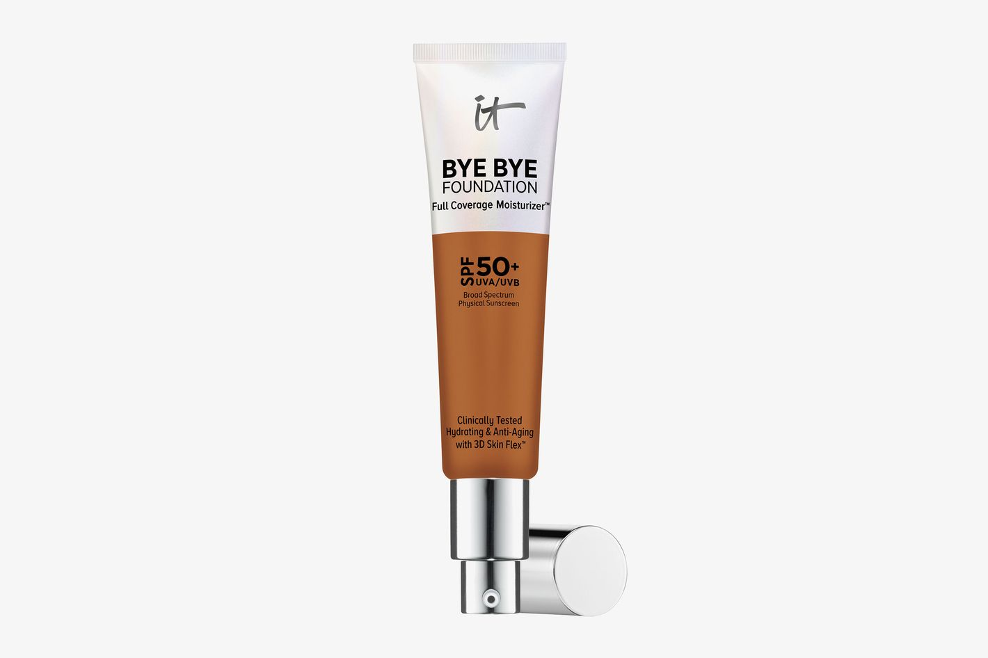Bye Bye Foundation Full Coverage Moisturizer with SPF 50+ Rich