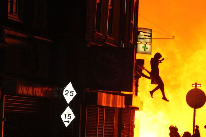 The riots.