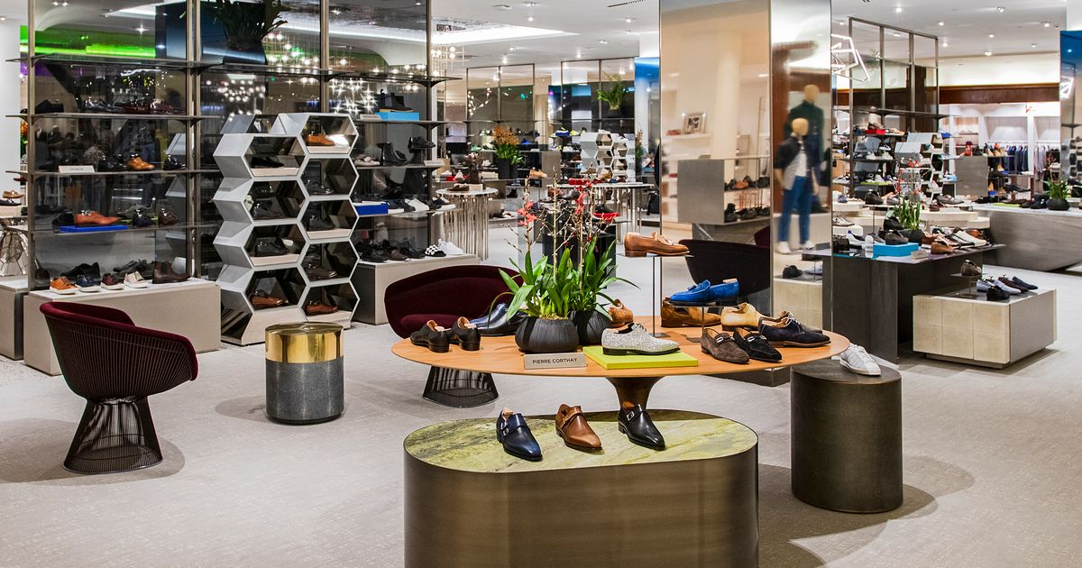 Saks Fifth Avenue Opened a New Men's Shoe Floor