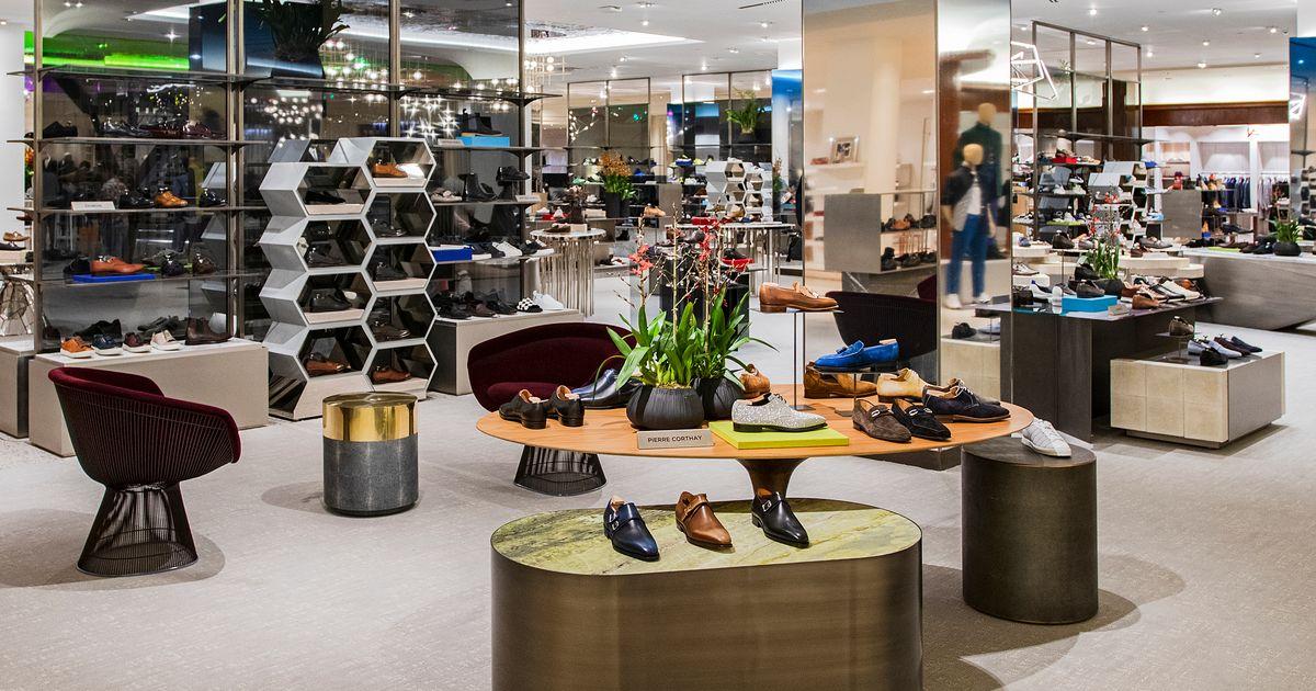 Saks Fifth Avenue Opened a New Men's Shoe Floor