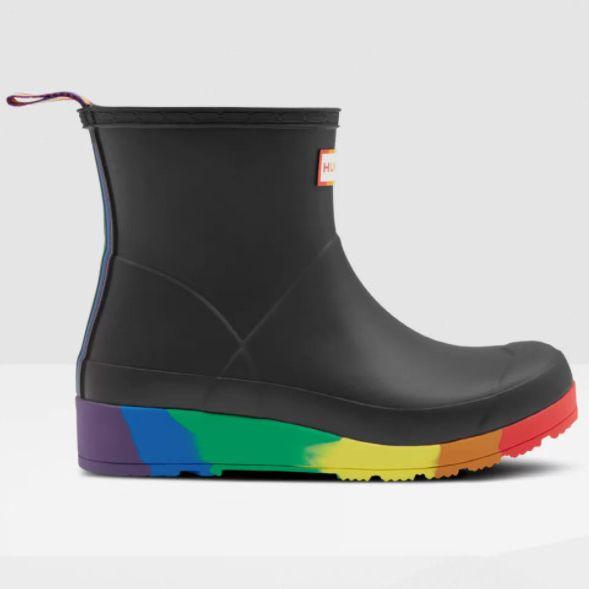 Hunter Flatform Pride Wellington Boots