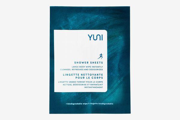 Yuni Shower Sheets Large Body Wipes