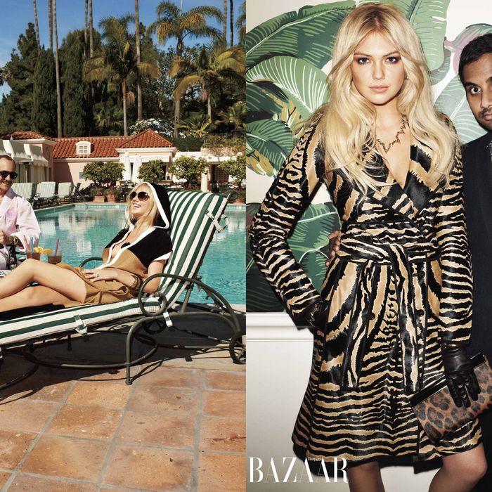 Kate Upton for <em>Harper's Bazaar</em>.