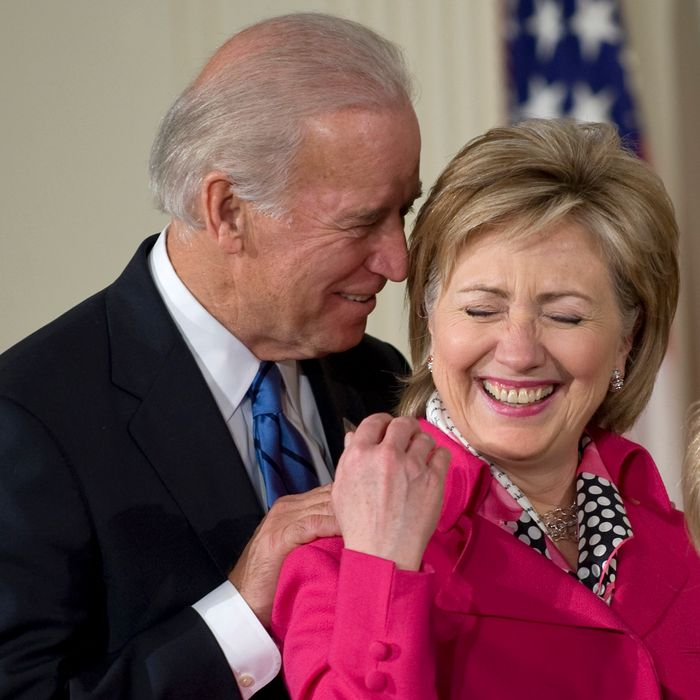 Image result for joe biden hillary clinton