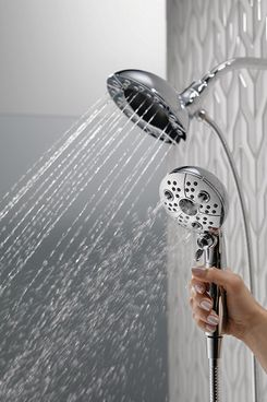 Delta 58480-PK In2ition H2Okinetic 5-Setting Two-in-One Handshower Showerhead