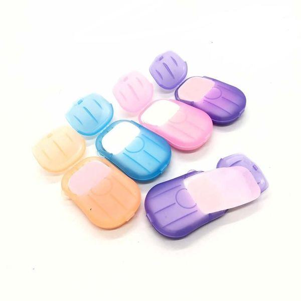 Portable Disposable Paper-Soap Sheets (6-Pack)