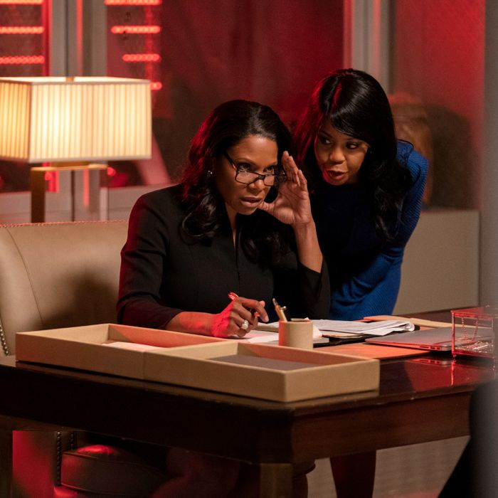 Audra McDonald and Sharon Catherine Brown in The Good Fight.