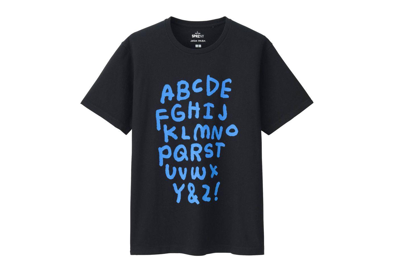 Jason Polan Alphabet T-shirt