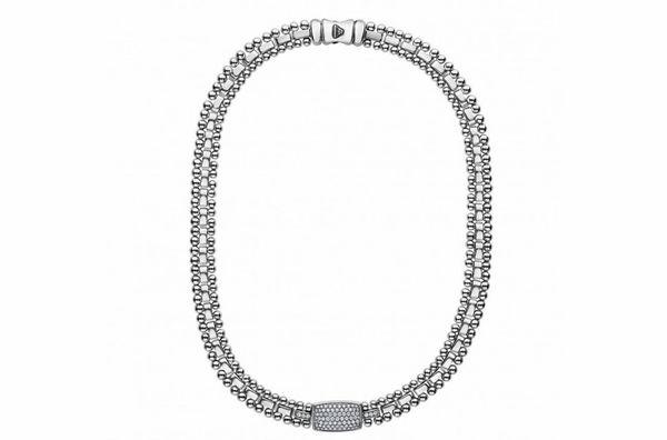 Caviar Spark Diamond Necklace