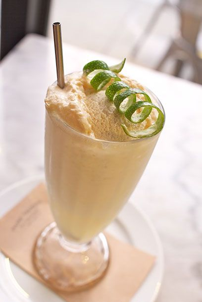 "<b>Fernet-With-a-Ginger-Back Float</b>  <a href=""http://sanfrancisco.menupages.com/restaurants/park-tavern/"">Park Tavern</a>  <i>1652 Stockton Street; 415-989-7300</i>  This North Beach brasserie from the team behind <a href=""http://sanfrancisco.menupages.com/restaurants/marlowe/"">Marlowe</a> opened last fall to universal acclaim and talk of it feeling like an instant classic. The dessert menu is as straightforward and boldly flavored as the savory menu — with the monthly changing 'Birthday Cake' being the biggest hit, especially with <a href=""http://sanfrancisco.grubstreet.com/2011/10/kauffman_says_park_tavern_is_a.html"">Jonathan Kauffman at <i>SF Weekly</i></a>. But we're fans of the boozy ice-cream floats, like this newest addition to the menu: It's Fever Tree ginger beer with a shot of Fernet Branca, a scoop of Fernet ice cream from <a href=""http://sanfrancisco.menupages.com/restaurants/mr-and-mrs-miscellaneous/"">Mr. & Mrs. Miscellaneous</a> and a bit of lime zest. What you get is a restorative beverage that hits a complex sweet spot somewhere between root beer, Moxie, and milk."