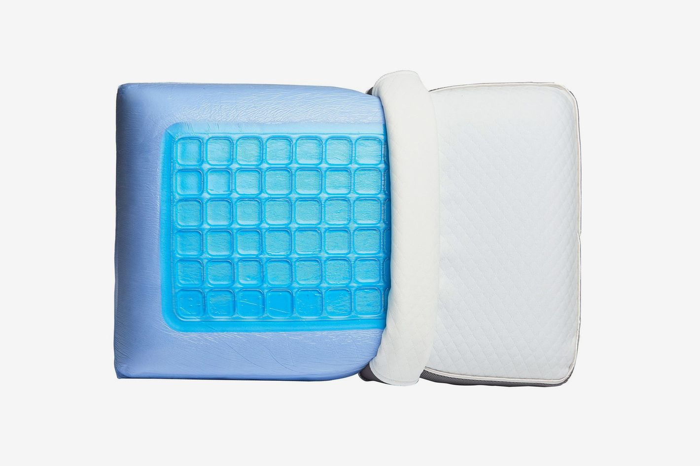 Perfect Cloud Memory Foam Pillow With Dual Option Cooling-Gel