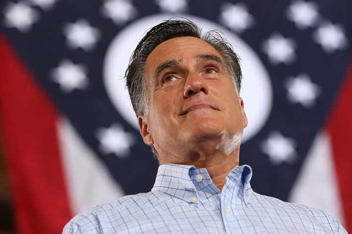 CINCINNATI, OH - SEPTEMBER 01: Republican presidential candidate, former Massachusetts Gov. Mitt Romney speaks during a campaign rally at Union Terminal on September 1, 2012 in Cincinnati, Ohio. Mitt Romney will hold campaign events in Ohio and Florida. (Photo by Justin Sullivan/Getty Images)