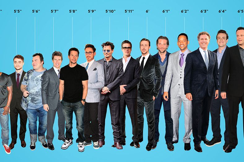 Hollywood Leading Men Arranged By Height The height of an element does not include padding, borders, or margins! hollywood leading men arranged by height
