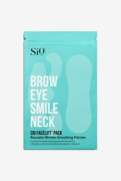 SiO Beauty FaceLift: Neck, Forehead, Eye & Smile Anti-Wrinkle Patches