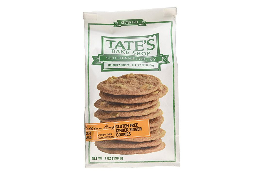 Tate's Bake Shop Gluten Free Ginger Zinger Cookies, Pack of 3