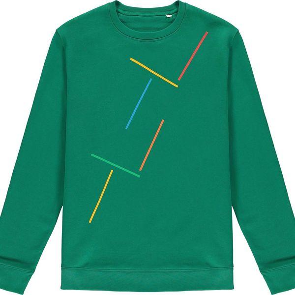 Heza Varsity Green Sweatshirt