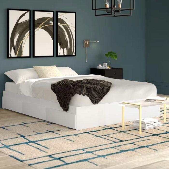 Modern Platform Beds With Storage, Platform Beds With Storage Queen Size Mattress