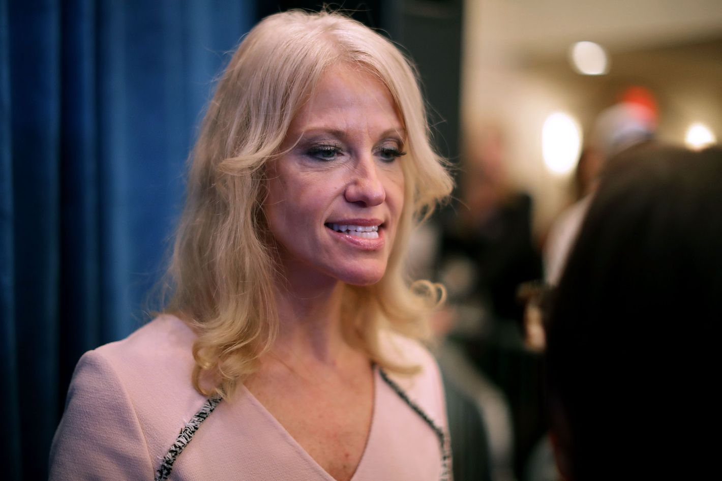 kellyanne conway scolds student for sexual assault question