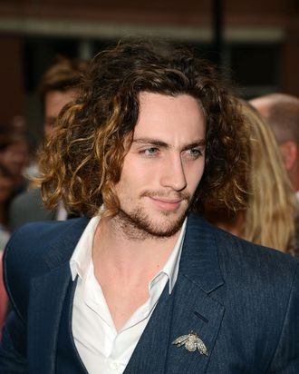 Actor Aaron Taylor-Johnson attends the