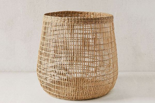 Woven Caged Storage Basket