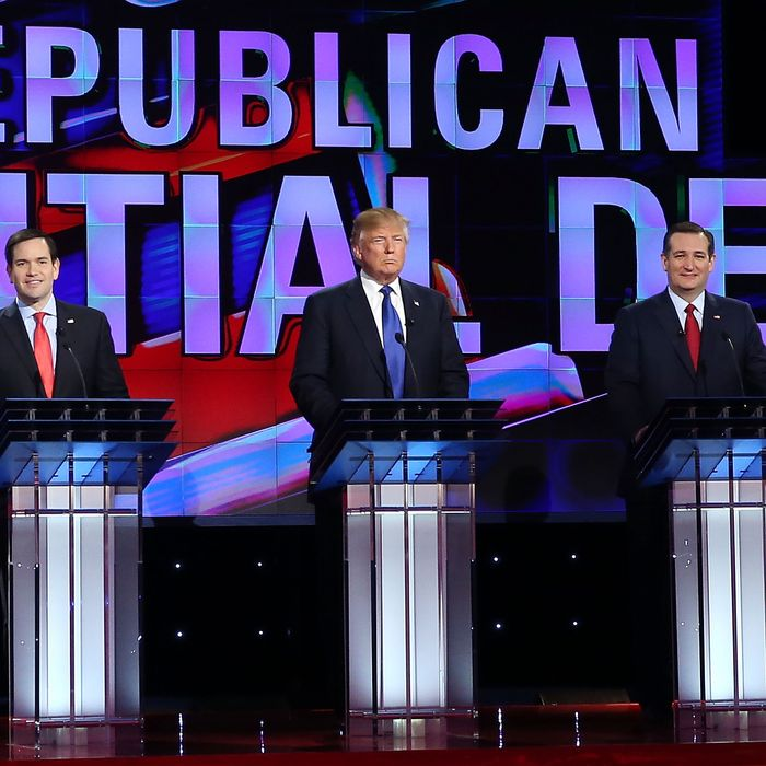 Republican Presidential Candidates Debate In Houston, Texas