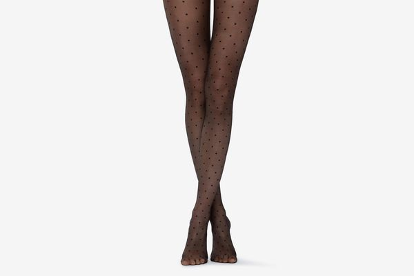 Calzedonia Womens Polka Dot Tights