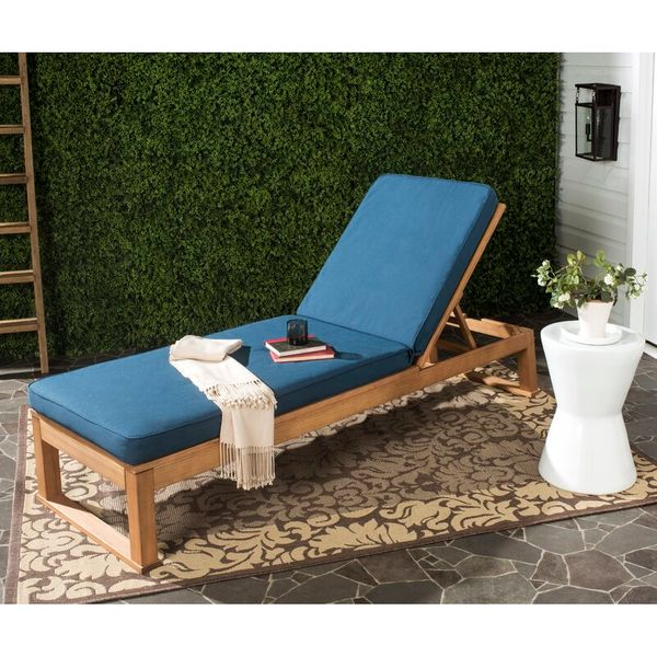 Mercury Row Faunce Reclining Chaise Lounge with Cushion