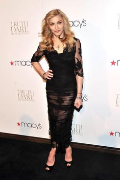 "Singer Madonna Launches Her Signature Fragrance ""Truth Or Dare"" By Madonna"
