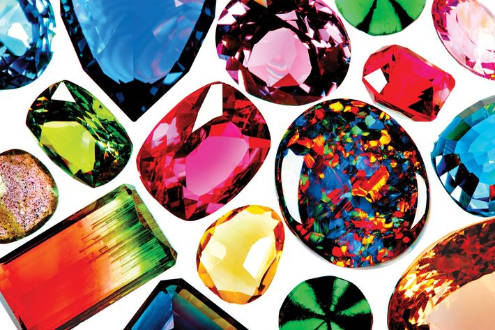 Thirty gems, from crazy expensive jewels to exceedingly affordable crystals.
