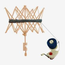 The Woolery Yarn Ball Winder and Swift Combo