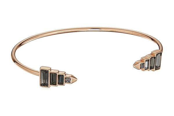 Rebecca Minkoff Stacked Baguette Cuff Bracelet