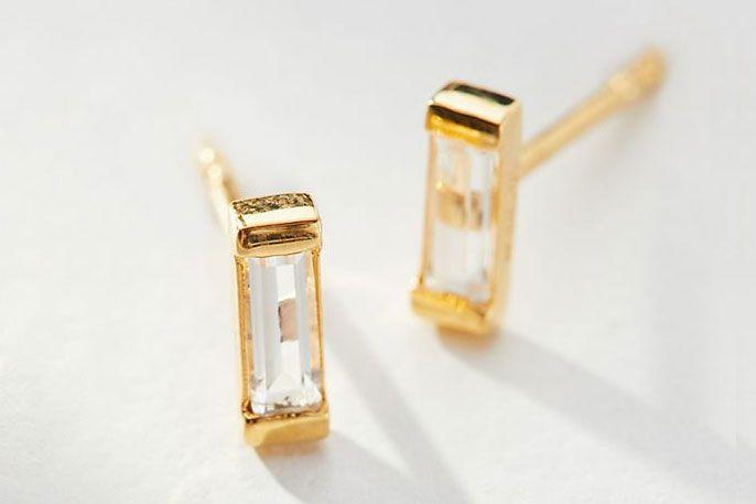 Demi Small Post Earrings