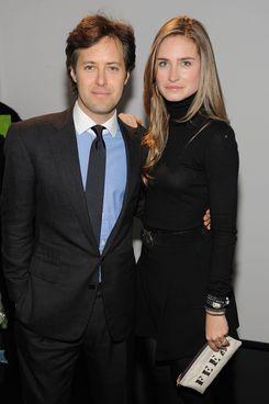 David Lauren and Lauren Bush.