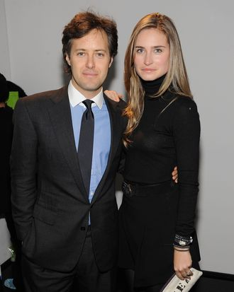 David Lauren and Lauren Bush.