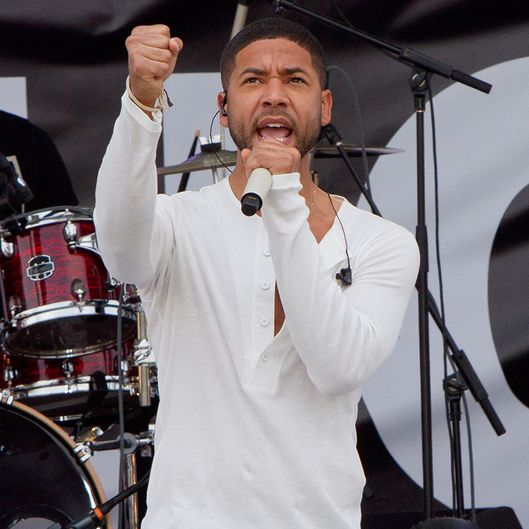 "EMPIRE: Jussie Smollett as Jamal Lyon in the ""The Devils Are Here"" Season Two premiere episode of EMPIRE airing Wednesday, Sept. 23 (9:00-10:00 PM ET/PT) on FOX.  ©2015 Fox Broadcasting Co. Cr: Chuck Hodes/FOX."