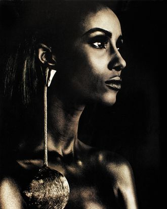 Iman photographed Phillip Dixon for the June 1992 issue.