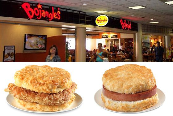 "<a href=""http://bojangles.com/"">Bojangles' Chicken 'n Biscuits</a> <i></i>  <i>Concourse B; 704-359-1106</i>   Chick Fil-A gets all the love when it comes to Southern chicken chains, but Charlotte's own Bojangles' is a mighty strong contender for the crown. Grab a bucket or a biscuit sandwich, but all the locals we talked to told us the one thing you can't pass on is the chain's sweet tea."