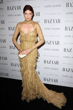 LONDON, UNITED KINGDOM - NOVEMBER 07: Florence Welch attends the Harper's Bazaar Women Of the Year Awards 2011 at Claridges Hotel on November 7, 2011 in London, England. (Photo by Eamonn McCormack/Getty Images)